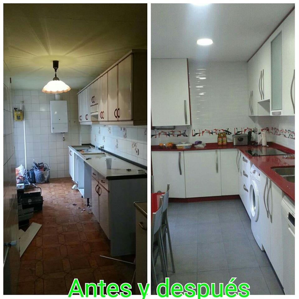 Reforma cocina en Madrid