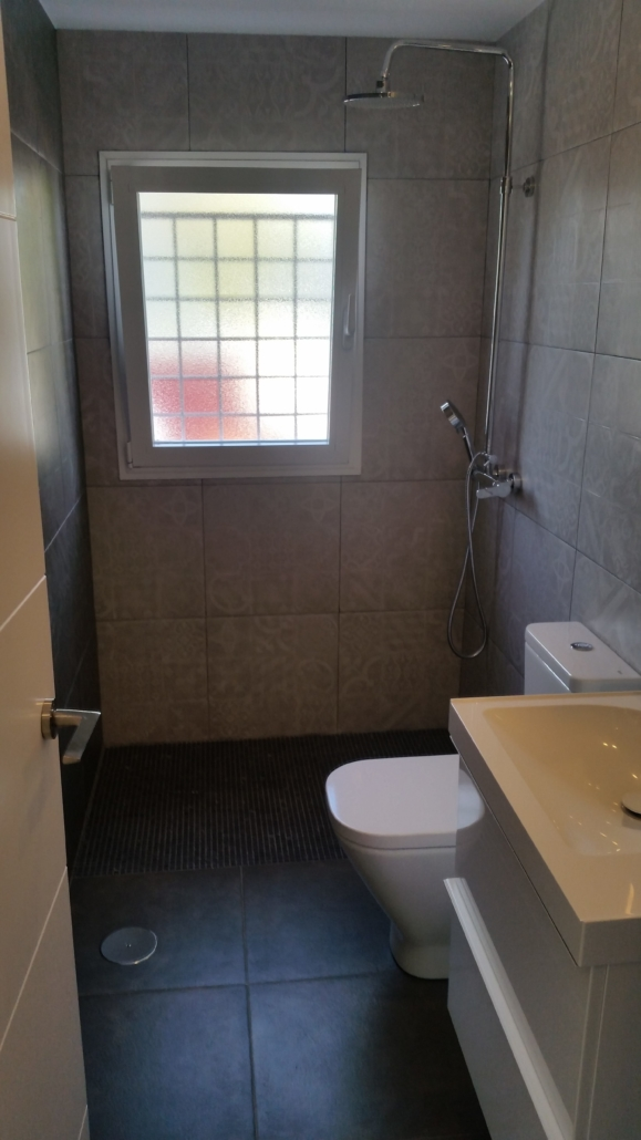 reforma integral baño ducha de obra e  scaled