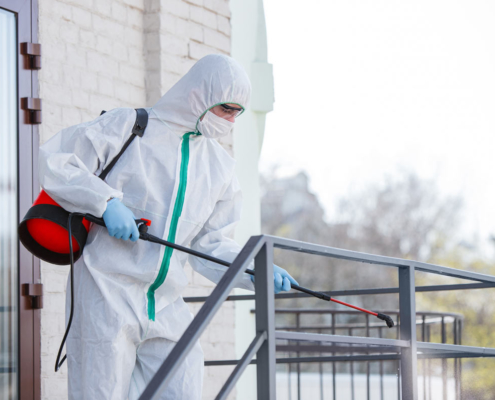 Limpieza tras el coronavirus