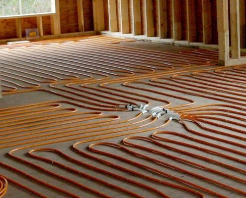 Ventajas de instalar la calefacción por suelo radiante