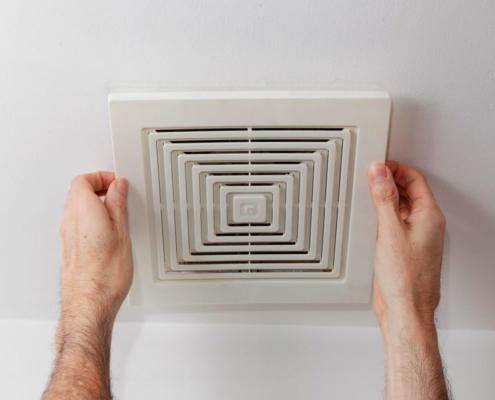 Instalar extractor de aire en baño